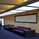 Uuenduslik ja helge sisekujundus läbib ka spordikompleksi hotelliga ühendavat galeriid