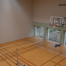 Spordisaalis on võimalik maha pidada ka üks mõnus sulgpallilahing