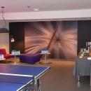 Lauatennise ruum on avar ja mõnus koht meeleoluka ja aktiivse õhtu veetmiseks